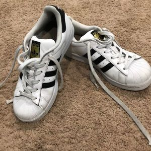 Adidas Superstar sneakers size 7